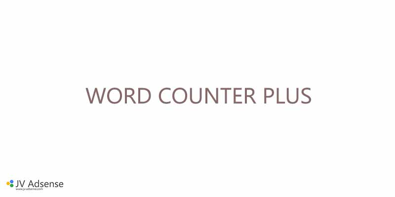 Word Counter Plus